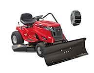 MTD Optima LG155 Trädgårdstraktor med plogpaket, 1000449647