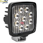 Vision X Vl Series Square 9-Led 45W W/Dt, 1000464205