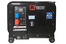 Warrior 6000W Tystgående Dieselelverk, 1000448802