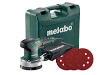 Metabo SXE 3125 Set inkl. 25 självhäftande slipark Excenterslip, 4000000181