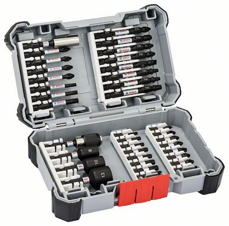 Bosch Impact Bits/Hylsnyckel 36 delar Bitssats, 4000000180