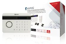 König Trådlöst Larmset GSM / PSTN - 433 MHz / 95 dB, 1000451396