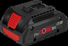Bosch Procore 18V 4Ah Batteri, 1600A016GB