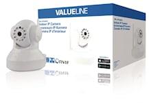 Valueline HD Pan-Tilt Kamera Inomhus 720P Vit, 1000454198