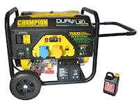 Champion 7000w Dual Fuel elverk med elektrisk start, 1000389885