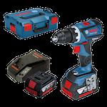 Bosch GSR 18V-60 C 2x4,0Ah Skruvdragarpaket, 1000113866