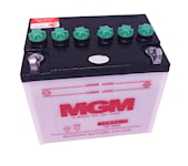 Batteri 12N24-3 för trädgårdstraktorer, 22-249
