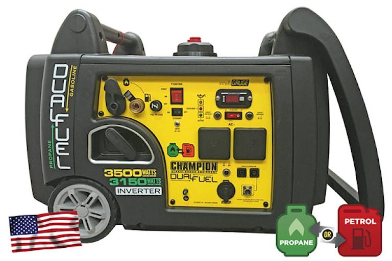 Champion 3100W Inverterelverk Bensin/Gas, 1000342071