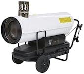 Kinlux 50Kw Dieselkanon med skorsten, 1000051846