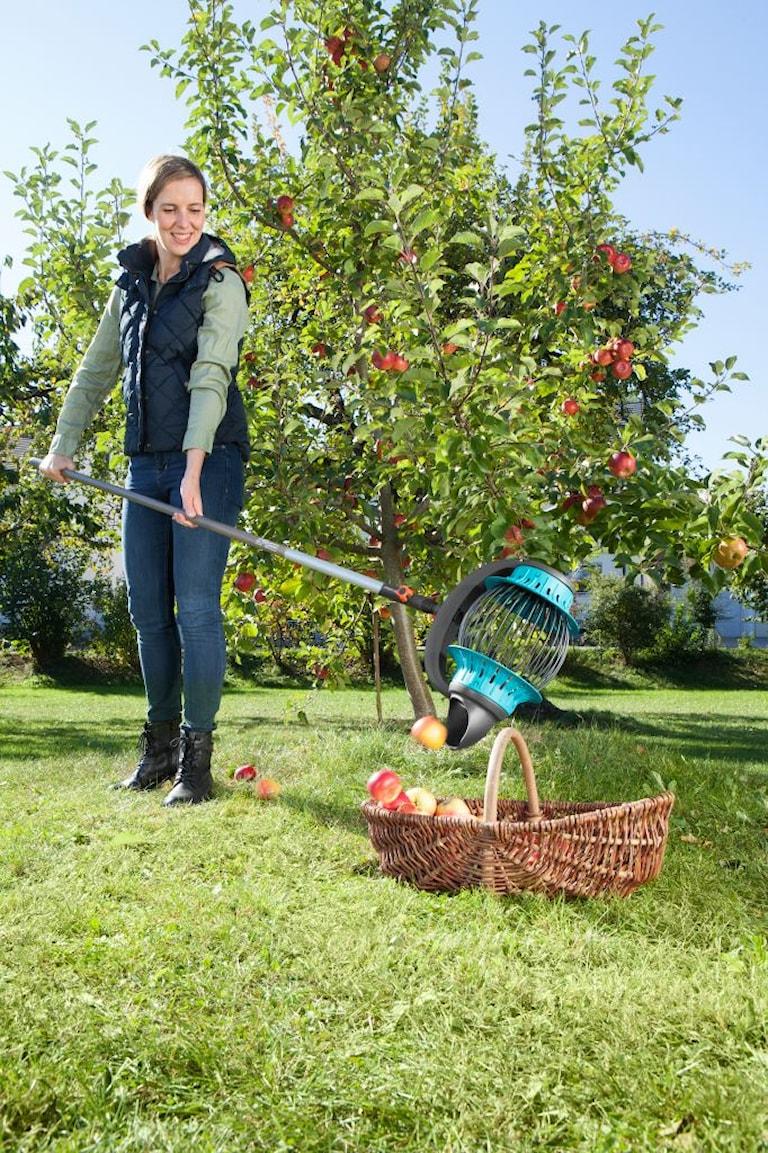 Gardena Fruktuppsamlare med skaft, 1000112901