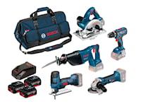 Bosch 18V GSR/Gst/GWS/Gks/GSA 3X4,0Ah Set, 1000113896
