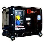Warrior 5000W tystgående Dieselelverk, 1000448803