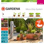 Gardena Micro-Drip System Startpaket M med bevattningsdator, 1000127289