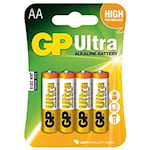 GP Ultra AA Batteri, 1000050677