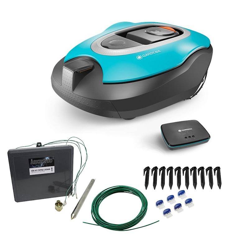 Gardena Smart Sileno 1000 Robotgräsklippare, 1000465685