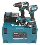 Makita Verktygssats DLX2189TJ 18V 2st maskiner 2st 5 Ah &, 4000000075