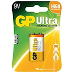 GP Ultra 9V Batteri, 1000050679