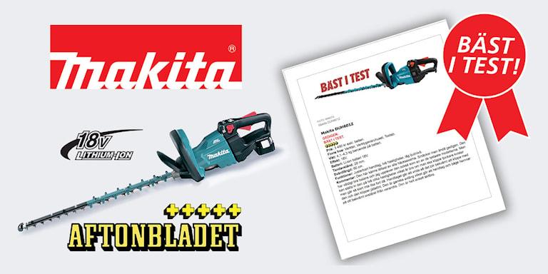 Makita DUH602SF 18V Häcksax, 1000482598