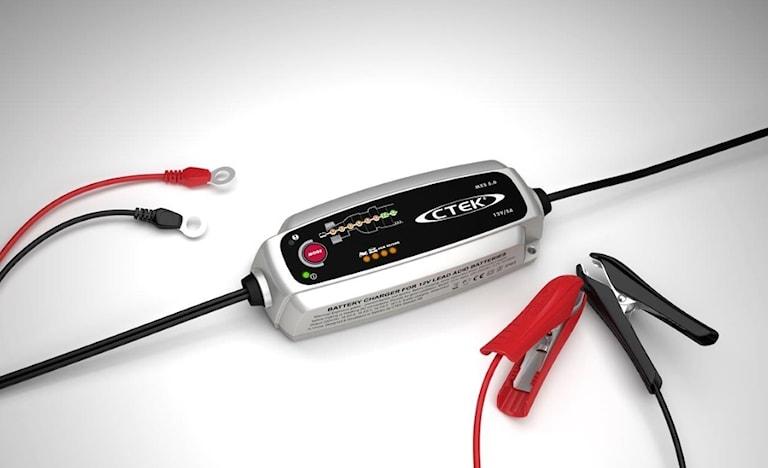 Ctek MXS 5.0, 5A 12V Batteriladdare, 1000449654