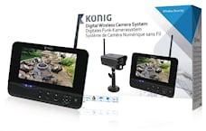 König Digital Trådlöst Observationsset 2.4 Ghz - 1x Kamera, SAS-TRANS60