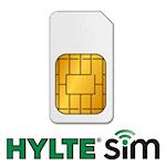 HylteSIM Bas Nyteckning inkl. SIM-kort & SMS, 1000467326