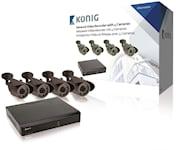 König NVR Set - 4x Kamera, 1000451482