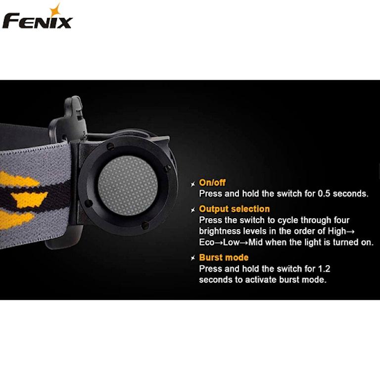 Fenix HP12 Pannlampa, 1000414241